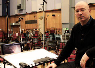 "In Abbey Road conducting for ""Elysium"""