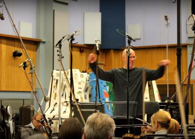 "Conducting ""Elysium"" in Abbey Road"